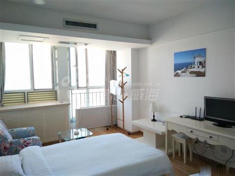 自由东方高档酒店式公寓43平25楼精